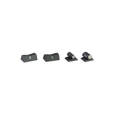 Semi-auto 24 / 7 Big Dot Tritium Express Sight Set Br-0001s-5 Brn Hp 24 / 7 Bd Trit Set : Handgun Parts by Xs Sight Systems for Gun & Rifle