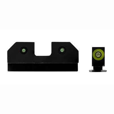 Xs Sight Systems Ram Night Sights For Glock - Ram Night Sights Green Glock 20/21/29/30/30s/37/41