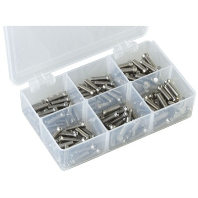 """Stainless Steel Sight Base Screws 8-40 X 1 / 2"""" Stnls Sight Base Oval Hd : Optics & Mounting by Brownells for Gun & Rifle"""