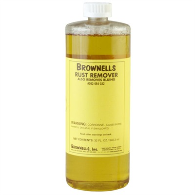Rust and Blue Remover Brownells Rust Remover Gal. : Gunsmith Tools & Supplies by Brownells for Gun & Rifle