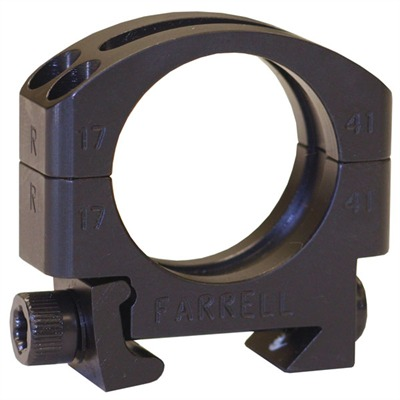 "Picatinny Scope Rings 1"" High Picatinny Scope Rings : Optics & Mounting by Farrell Industries, Inc. for Gun & Rifle"