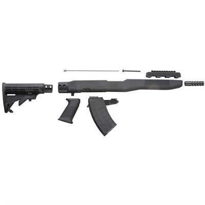 Intrafuse Compliance Kit Sks Black Compl Kit W / bayonet Groove : Rifle Parts by Tapco Weapons Accessories for Gun & Rifle