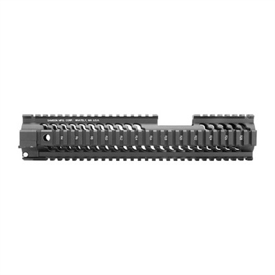 "Ar-15/M16 Star Handguards - Tactical Accessory Rail System, Extra Long Rail 10"" Blk"