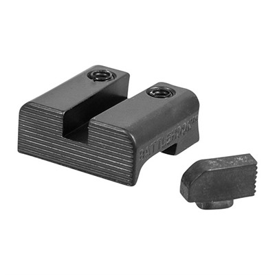 Battlehook Sight Sets For Glock Battlehook Sight Set Black Front & Rear For Glock U.S.A. & Canada