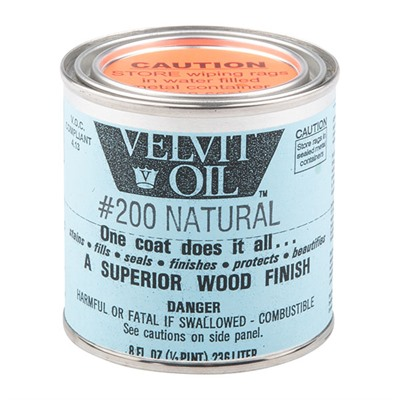 Velvit Oil - #200 Natural 1/2 Pint