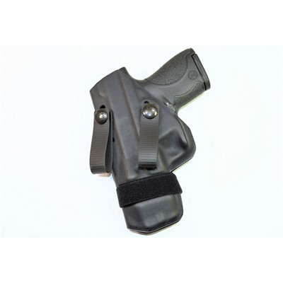 Raven Concealment Systems Morrigan Iwb Holsters - Morrigan Hkvp9/Vp9sk Ambi Soft Loops Black