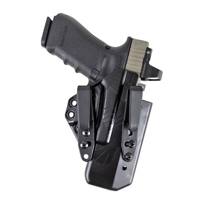 Raven Concealment Systems Eidolon Holsters Basic Kit For Glock - G19 Eidolon Basic Holster Double Ambidextrous Tall Black