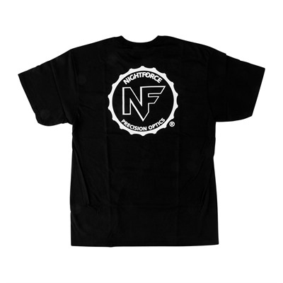 Nightforce Medallion Logo T-Shirts - Medallion Logo T-Shirt Black X-Large