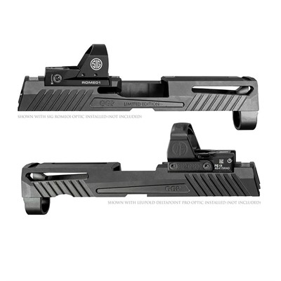 Grey Ghost Precision Sig P320 Compact Version 1 Slides - Sig P320 Compact Slide V1 Grey