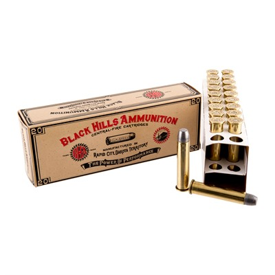 Black Hills Ammunition Cowboy Action Ammo 45-70 Government 405gr Lead Flat Point - 45-70 Government 405gr Fpl 200/Case