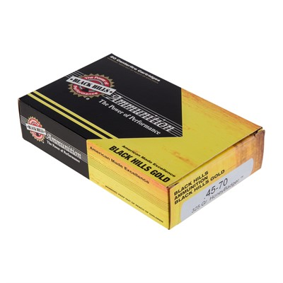 Black Hills Ammunition 45-70 Government 325gr Honeybadger - 45-70 Government 325gr Honeybadger 100/Case