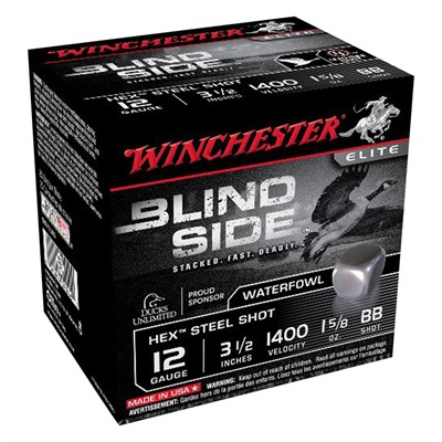 Winchester Blind Side Waterfowl Magnum 12 Gauge Ammo - 12 Gauge 3