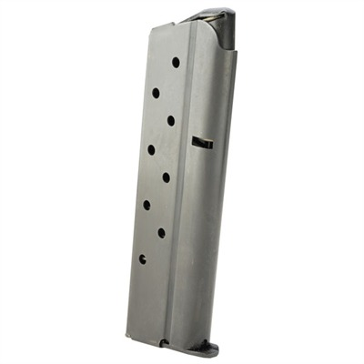 Magazine, Delta 10mm, 8-round, Blue Sp572492 Mag,.45,acp,7 Rnd Bright S / s : Magazines by Colt for Gun & Rifle