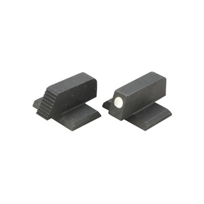 Semi-auto Ramped Dovetail Front Sights 312-c .200 White Dot Ramped Front Site : Handgun Parts by Heinie for Gun & Rifle