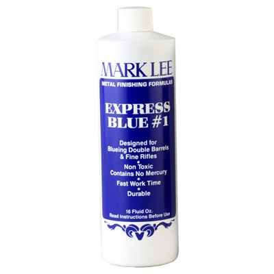 Express Blue #1 Express Brown #2 4-1 Express Blue #1, 4 Oz. : Gunsmith Tools & Supplies by Mark Lee for Gun & Rifle