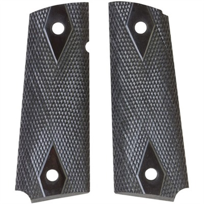 1911 Auto Custom Grips Off Model S&a Rosewood Checkered Grip : Handgun Parts by Navidrex for Gun & Rifle