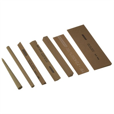 Thin India Stones for Reamers and Cutters 86250 Mf-134 Triangular India Stone : Gunsmith Tools & Supplies by Norton for Gun & Rifle