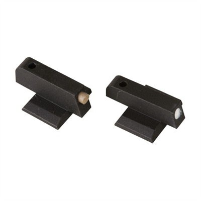 """1911 Auto Front Dovetail Sights .160"""" Gold Bead Front : Handgun Parts by Novak for Gun & Rifle"""