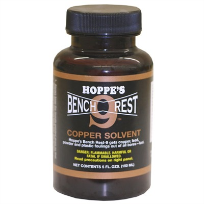 Bench Rest-9 Copper Solvent Br 916 Bench Rest 9 Copper Solvent Pt. : Gun Cleaning & Chemicals by Hoppe's for Gun & Rifle