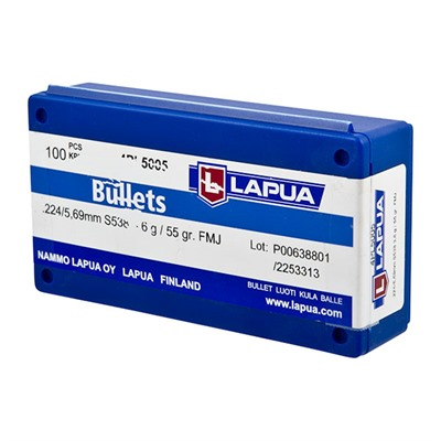 Lapua Fmj Bullets - 6.5mm (0.264