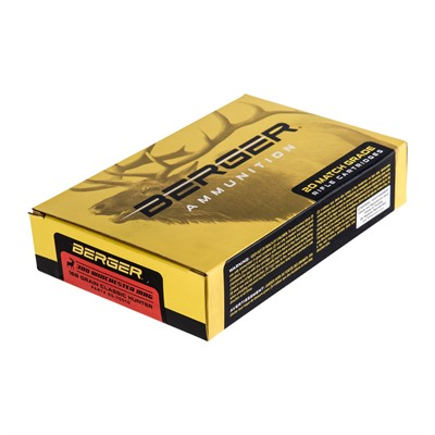 Berger Bullets Match Grade Hunting 300 Winchester Magnum Ammo - 300 Winchester Magnum 185gr Hybrid Boat Tail 200/Case