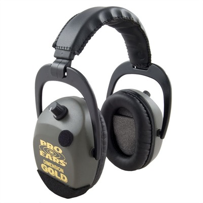 Stalker? Gold? Series Electronic Muffs Gs-sdtl Green Stalker Fold Nrr 25 : Shooting Accessories by Pro Ears for Gun & Rifle
