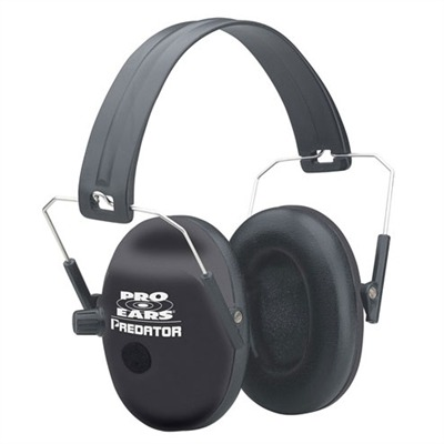 Pro Series 200 Headsets Pro 200 Nrr 19 Black Behind Head : Shooting Accessories by Pro Ears for Gun & Rifle