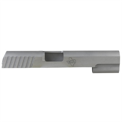 1911 Auto 2011 Bar Stock Slide 45acp Slide W / bomar Cuts & Frt / r Serr. : Handgun Parts by Sti for Gun & Rifle