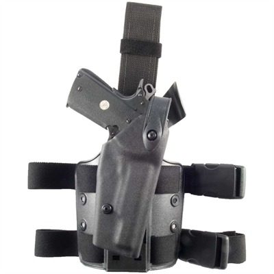 6004 Tactical Holster Tact Thigh Holster-std 1911-fol Green : Shooting Accessories by Safariland for Gun & Rifle
