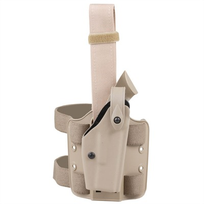 6004 Tactical Holsters Tact Thigh Holster-ber.92 / 96 Brownfde : Shooting Accessories by Safariland for Gun & Rifle