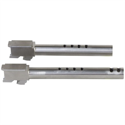 """Pre-fit Ported Barrels for Glock~ Glock 35 40s&w 4-port 5.32"""" S / s Barrel : Handgun Parts by Storm Lake for Gun & Rifle"""