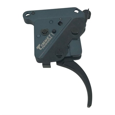 Timney Remington 700 Hit Triggers - Remington 700 Left Hand Trigger Straight Nickel 8oz