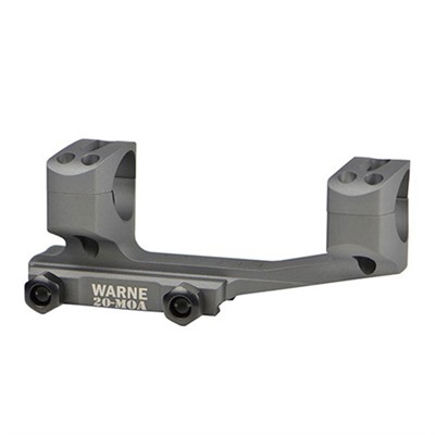 Warne Mfg. Company Lr-Skel Extended Skeletonized Msr Mounts - 1
