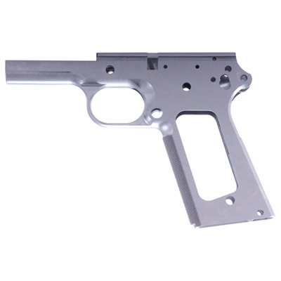1911 Auto Checkered Receiver Full-size Carbon Frame W / checkering : Handgun Parts by Wilson Combat for Gun & Rifle