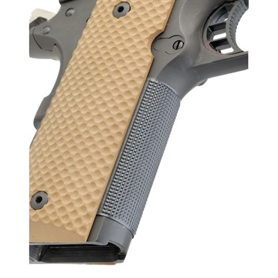 1911 Auto Checkered Front Strap #100s Checkered Frontstrap, Stainless : Handgun Parts by Wilson Combat for Gun & Rifle