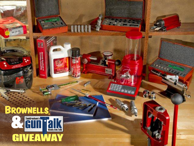 Win a $2,000 Brownells Reloading Package From Tom Gresham's Gun Talk