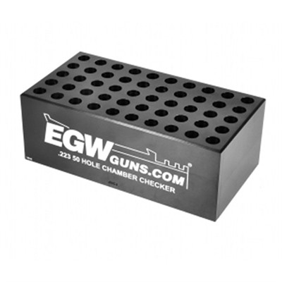 223 Remington 50-Hole Cartridge Checker Egw.