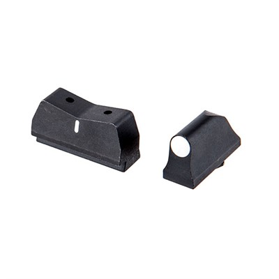 Dx Big Dot Suppressor Height Sights For Glock® Xs Sight Systems.