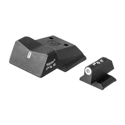 Dxt Standard Dot Suppressor Height Sights For Colt 1911 Xs Sight Systems.