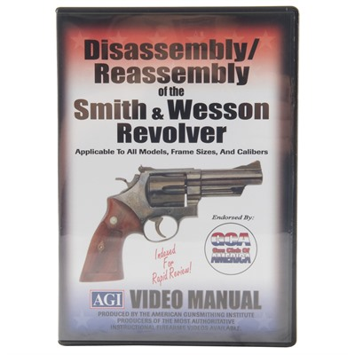 AGI S&W REVOLVERS-ASSEMBLY AND DISASSEMBLY | Brownells