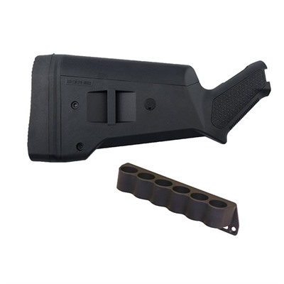 Mossberg 500 Sga Buttstock W/6-Rd Shotshell Holder Brownells.
