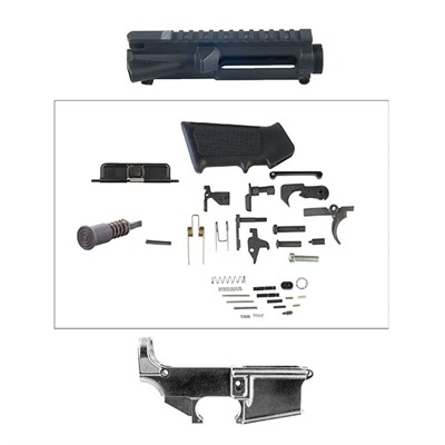 The Kit contains the basic parts to help you build an AR-15 upper and lower assembly. It Includes a stripped upper receiver, ...