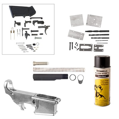 Ar-15/m16 80% Lower Receiver Jig Build Kits Brownells.