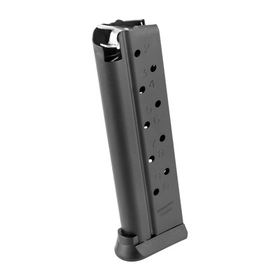 The second generation Brownells 1911 magazines combine heavy duty construction with the reliability you've come to expect from a century old service ...