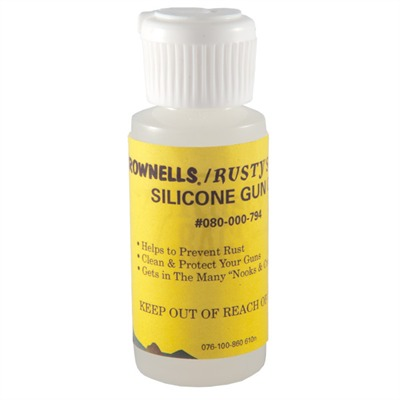 Silicone Gun Oil by Brownells/rustys Rags
