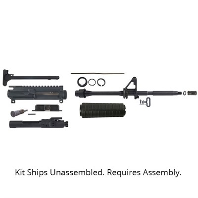 Assembly your own complete upper receiver with this Brownells Upper Receiver Build Kit and save big. With quality components sourced from some ...