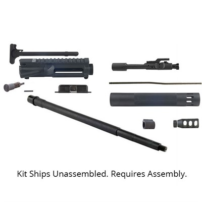 Brownells offers this complete Precision Upper Receiver Build Kit that gives you top quality components at a great price. Featuring parts sourced ...