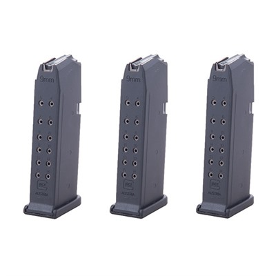 Model 19 9mm Magazine 3 Pack Glock.