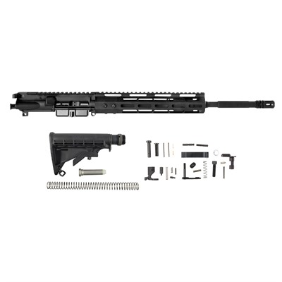Ar-15 Upper Receiver W/ Lower Parts Kit & Stock Assembly Brownells.