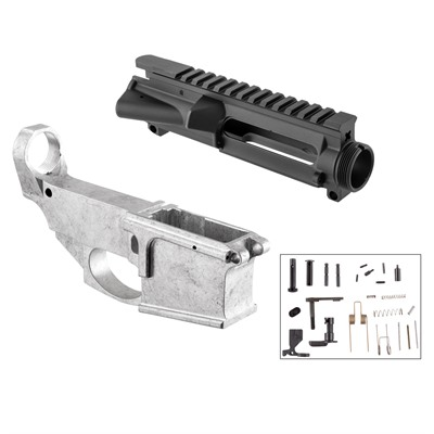 With just the basic components included, the Brownells AR-15 80% Upper/Lower Receiver Build Kit gets you started building any AR-15 platform you ...